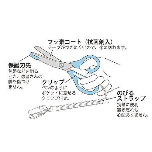 リサとガスパール 医療用はさみ リサとガスパール ブルー ST-UG0001