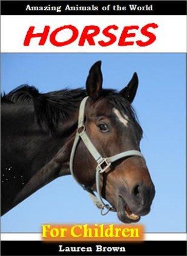 Horses for Children - Amazing Animals of the World (English Edition)