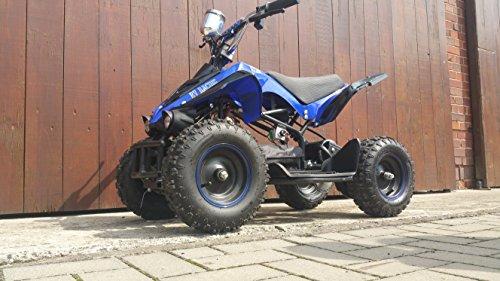 RV-Racing Elektro Quad Miniquad Kinder ATV GT540 800W 800Watt Pocketquad Kinderquad Blau