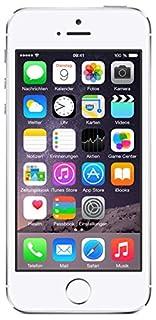 Apple iPhone 5S Smartphone 16GB (10,2 cm (4 Zoll) IPS Retina-Touchscreen, 8 Megapixel Kamera, iOS 7) Silber (B00F8JHE16) | Amazon price tracker / tracking, Amazon price history charts, Amazon price watches, Amazon price drop alerts