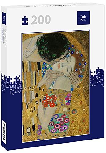 Lais Puzzle Gustav Klimt - Il Bacio - Dettaglio 200 Pezzi