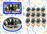 The Walking Dead Cake Topper Edible Image Personalized Cupcakes Frosting Sugar Sheet (8' X 11' Cake Topper)