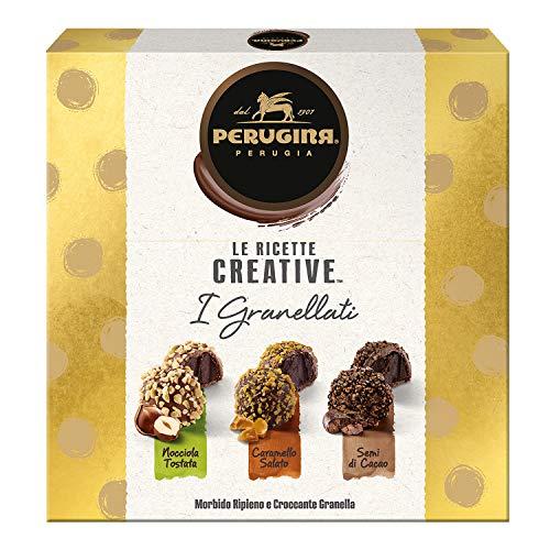 Perugina Le Ricette Creative I Granellati Cioccolatini Ripieni Assortiti, 220 Gr