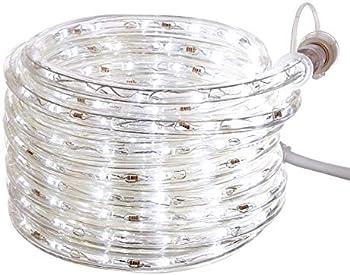 Amazon Basics 210 LED 20-Ft White Rope Light