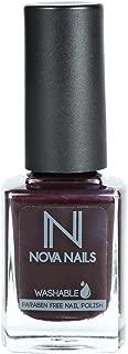 Nova Washable Nail Polish - 84 Witch's Broom, 0.37 oz.