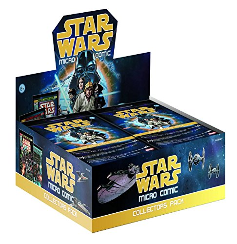 Star Wars Micro Comic Collectors Pack Box of 24