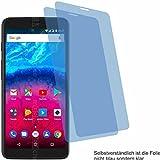 4ProTec I 2X Crystal Clear klar Schutzfolie für Archos Core 55S Bildschirmschutzfolie Displayschutzfolie Schutzhülle Bildschirmschutz Bildschirmfolie Folie
