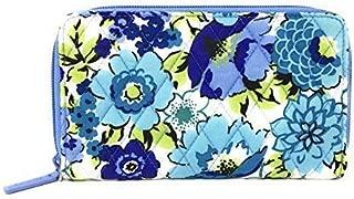 Vera Bradley Accordion Wallet (Blueberry Blooms with Blue Interior)