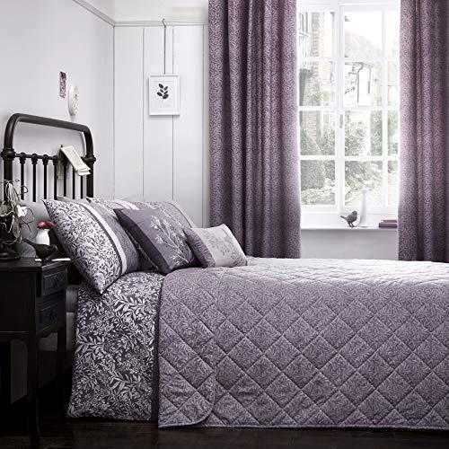 Dreams & Drapes - Hanworth - lättskött sängöverkast - 195 x 229 cm, ljung
