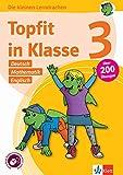 Klett Topfit in Klasse 3: Deutsch, Mathematik, Englisch: Über 200 Übungen für die Grundschule: Übungsbuch für die Grundschule, über 200 Übungen, mit ... online (Die kleinen Lerndrachen)