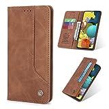 NEINEI Funda para Xiaomi Mi 11 Lite 4G/5G,Premium Leather Flip Billetera Carcasa Libro de Cuero con [Ranuras y Tarjetas] [Cierre Magnético],PU/TPU Protector Telefono Case Cover,Negro