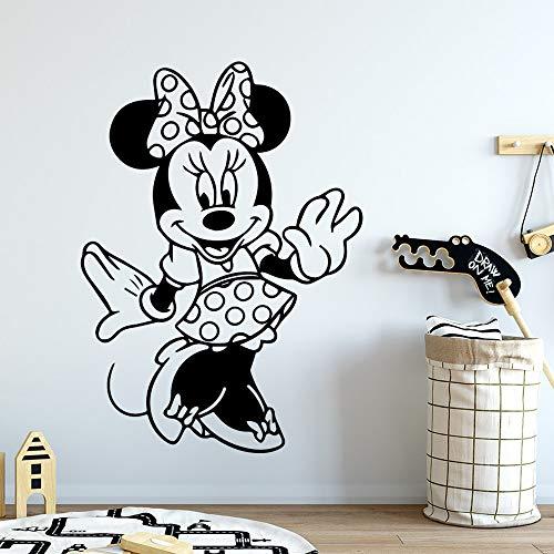 hetingyue Familie cartoon muis muur kunst decal decoratie mode vinyl sticker huisdecoratie behang