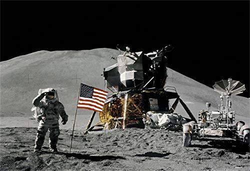 New Horizon Aviation, LLC Moon Landing Fine Art Print