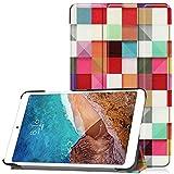 GHC Pad Fundas & Covers For Xiaomi Mi PAD4 MIPAD 4 8.0 Pulgadas, Funda de Cuero de la PU Delgada Cubierta Protectora for la Tableta for MI Pad 4 8 Stand Smart Cover + Regalos (Color : HLF)