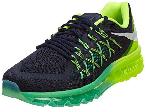 Nike Air Max 2015Damen, Herren damen, Dark Obsidian/White-volt-menta