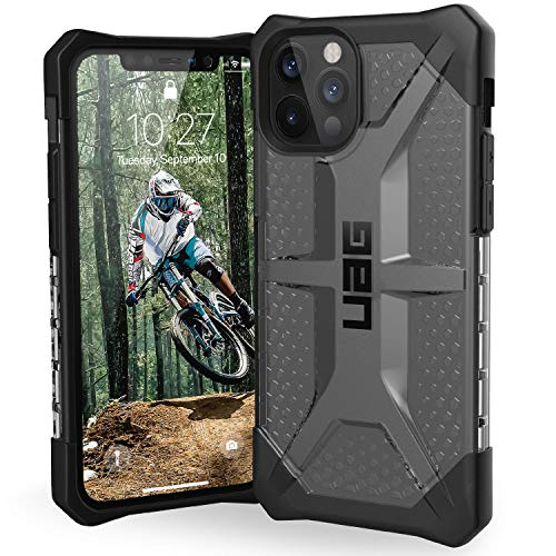 "Preisvergleich Produktbild Urban Armor Gear Plasma Hülle Apple iPhone 12 Pro Max (6, 7"" Zoll) Schutzhülle (Wireless Charging kompatibles Cover,  Sturzfeste Handyhülle,  Ultra Slim Bumper) - Ice (transparent),  112363114343"