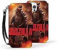 Iphone12 Pro Iphone 12 Iphone 12 Pro Max Iphone12 Mini ケース ゴジラ Godzilla 手帳型 カバーrssviss 合皮レザー 耐衝撃 Tpu 高級感puレザー カード収納 多角度調整 傷つけ防止 耐用性 指紋防止 ワイヤレス充電対応 スタンド機能付き 保護力 人気 おしゃれ かわいい 人気 アイフォン12 手帳型ケース 横置き機能