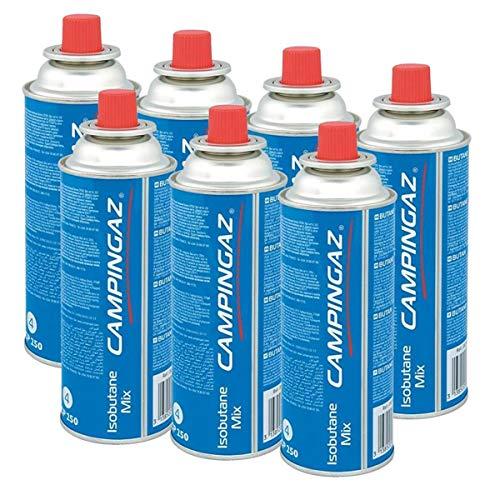Campingaz Ventil-Gaskartusche CP 250-450ml Isobutane Mix (7er Pack)