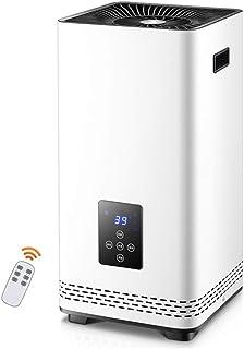 XYW-0007 Calefactor EléCtrica Calefactor RáPida FuncióN De Bloqueo para NiñOs Tropicales para Silenciar El Hogar Y El BañO De Ahorro De EnergíA De 2200 W (Blanco)