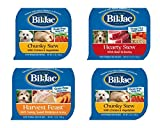 Bil Jac Wet Dog Food Bundle, 3.5 oz (Pack of 6) includes 2-Can Hearty Stew with Beef & Barley + 2-Can Chunky Stew with Chicken & Vegetables + 2-Can Harvest Feast with Turkey & Sweet Potatoes in Gravy
