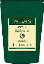 VAHDAM, 2019 Second Lopchu Golden Orange Pekoe Black Tea| 40+ cups, 3.53 oz | Pure 100% Unblended Darjeeling Black Tea Loose Leaf | Single Estate Tea