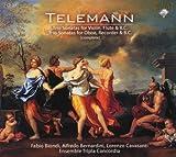 Telemann: Complete Trio Sonatas - Fabio Bondi (Violine)