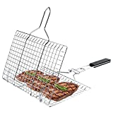 JY COOKMENT Grill Basket Stainless Steel with...