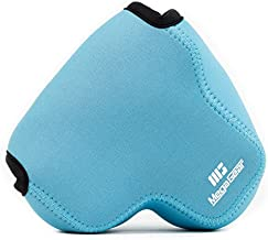 MegaGear ''Ultra Light'' Neoprene Camera Case Bag for Nikon Camera P600 (Blue)