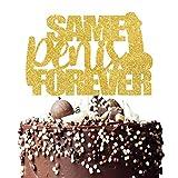 Same Penis Forever Cake Topper,Bachlorette Party, Bridal Shower Cake Decor,Penis cake topper,Lingerie party Hen Party Decoartions .Final Fling Sign