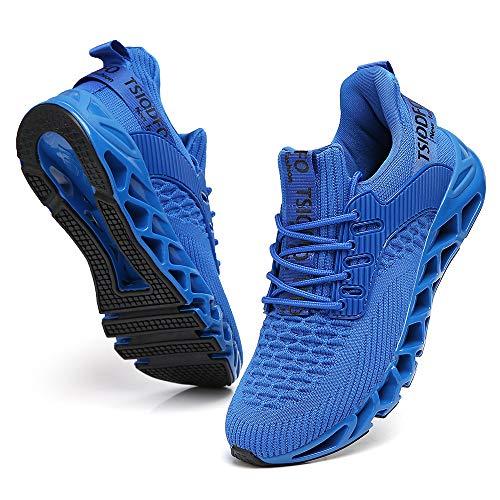 Boys Sneakers Size 6.5 for Men Running Walking Shoes royla Blue Cross Trainers runenr...