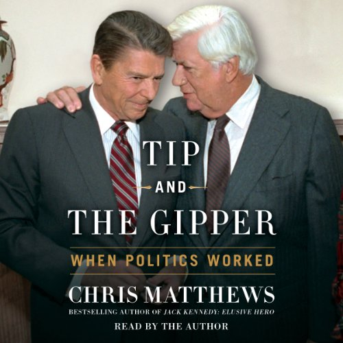 Tip and the Gipper audiobook cover art