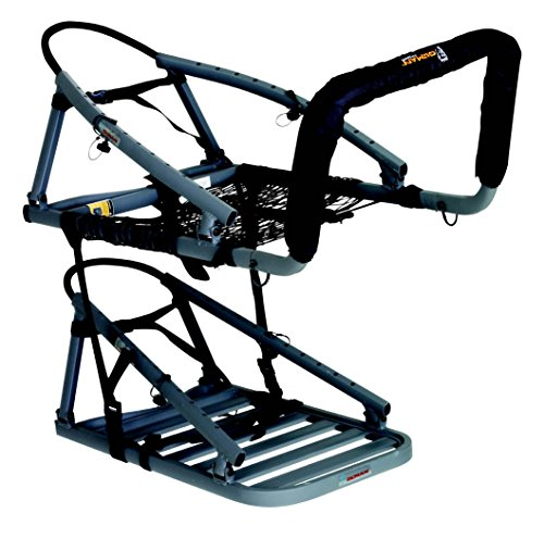 """OL'MAN TREESTANDS Alumalite CTS Climbing Stand, Aluminum Construction with 21"""" Wide Net Seat"""