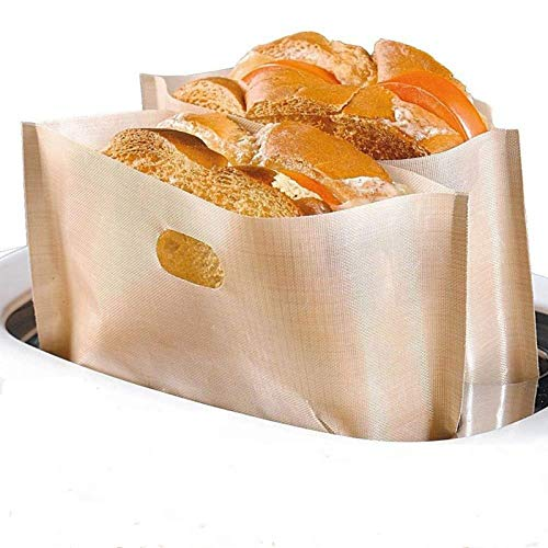 AMRTA Sacchetti Toast Tostapane Sacchetti 6/12 Pezzi...
