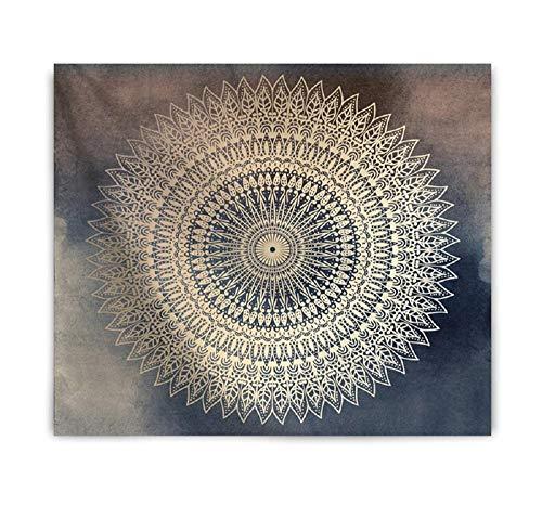 Mandala Floral Bohemia tapiz de pared tela macramé alfombra dormitorio manta tapices de tela de pared 150X200CM