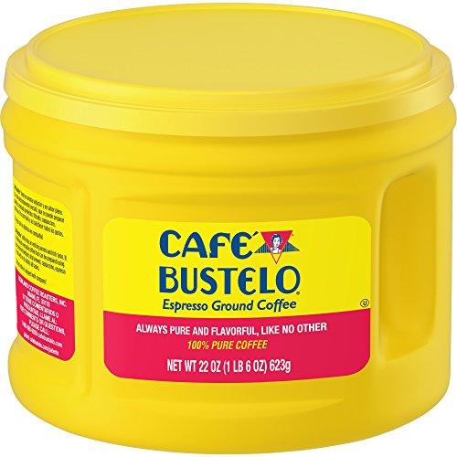Cafe Bustelo Espresso Ground Coffee, Dark Roast, 22
