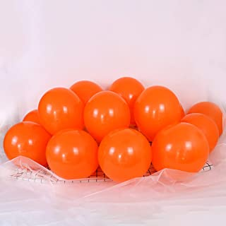 Tim&Lin 5 inch Orange Balloons Quality Small Orange Balloons Premium Latex Balloons Helium Balloons Party Decoration Suppl...