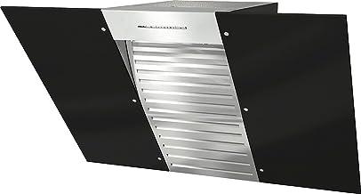 Miele DA 6096 W schwarz Wing Wandhaube / 89,8 cm / obsidianschwarz / Kopffreiheit mit obsidianschwarzem Glasschirm in 90 cm Breite / Leistungsstark 650 m³/ h in Intensivstufe