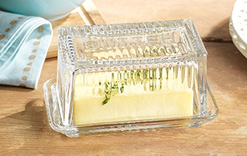 Home Essentials & Beyond 9517 Lifestyle Butter Dish Bowl44; Large