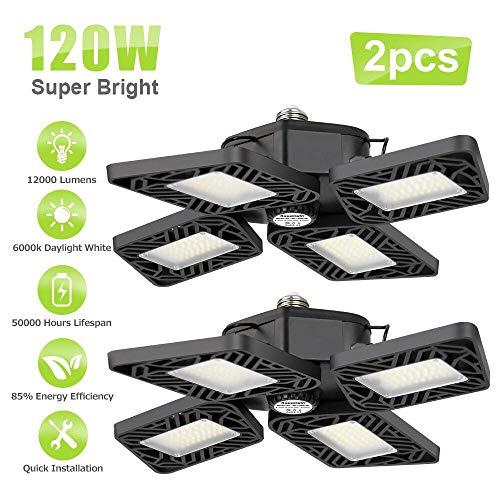 Non-Linkable Garage Light for Office//Shop Suspension Mounting Plug and Play LED Garage Light LIGHTDOT 40W 4FT LED Shop Light- 4400Lm 4000K Daylight 8 Pack