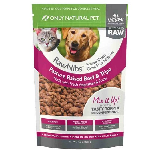 Only Natural Pet RawNibs Freeze-Dried Food