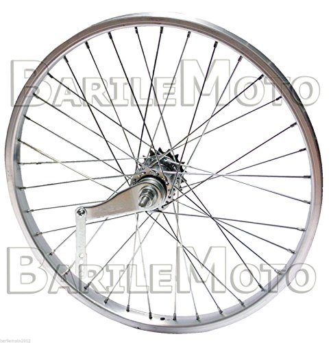 Ruota / Cerchio Posteriore CONTROPEDALE Bici City Bike - Fixed - Single 28'