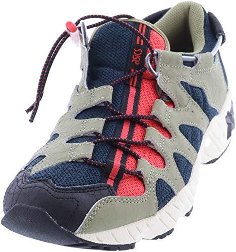 ASICS Tiger Gel-Diablo - Zapatos para hombre, azul (Océano Oscuro/Aloe), 41.5 EU