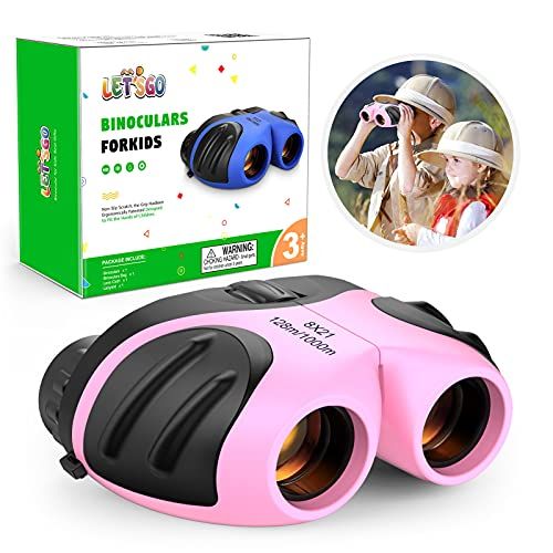 EUTOYZ Toys for Girls Age 5-12, Binoculars for Kids Girls Gifts for 3-12...