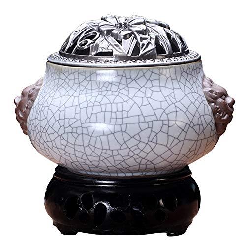Preisvergleich Produktbild Weihrauch-Brenner - Timing Temperaturregelung Elektronische Keramik Aromatherapie Ofen - Agarwood Ofen Ätherisches Öl Elektronische Aromatherapie Lampe