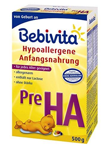 Bebivita PRE hypoallergene beginmelk, 4-pack (4 x 500 g)