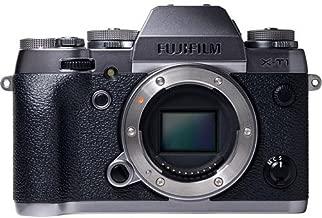 Fujifilm X-T1 Mirrorless Digital Camera (Graphite Silver Body Only) - International Version (No Warranty)