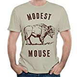 Dolan-66 Modest-Mouse Man Cool Short Sleeve T-Shirt Natural L