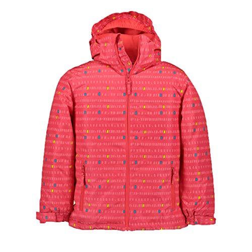 McKINLEY Toni II Kinder Winterjacke Skijacke, Größe:104, Farbe:AOP/Pink