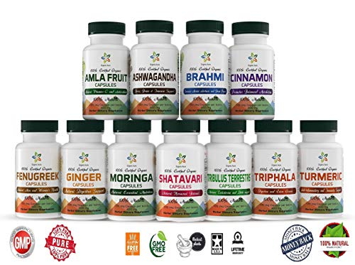 Premium AMLA Capsules. 1500mg/Serving-120 Veg Capsules. Made with USDA Certified Organic Amla. Natural Vitamin C and Antioxidants. 100% All Natural, Fresh and Original. No GMO and Gluten Free.