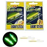 thkfish Fishing Glow Sticks Rod Tip Glow Sticks Fishing Rod Floats Glow Sticks Fishing Rod Night...